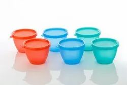 Food Storage Container Set of 6 Pieces - 500 ml Each