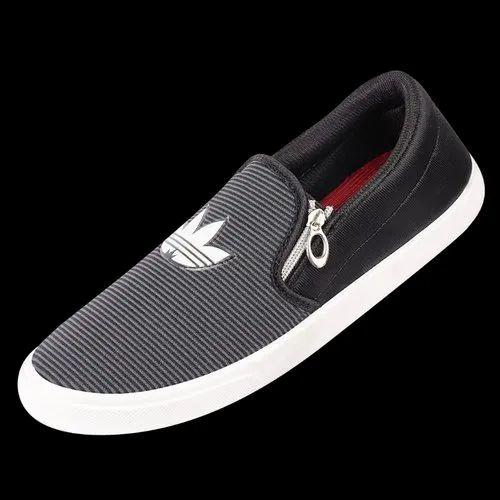 Men Casual Wear Zip Shoes, Rs 150 /pair