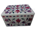 Marble Inlay Pill Box