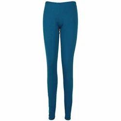 4561a2a2658de Casual Blue Ladies Viscose Legging, Size: M