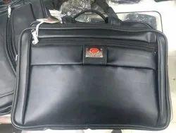 Black Office Leather Bag