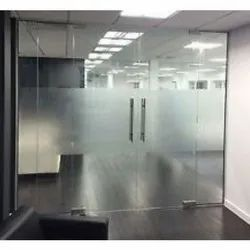 Plain Transparent Toughened Glass, For Office