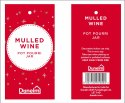 Melled Wine Potpourri Jar Label
