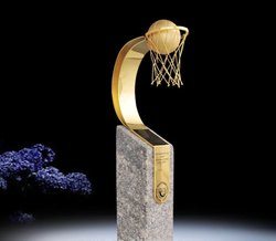 Marble Goal Trophy