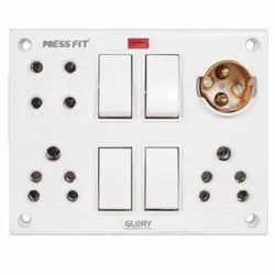 Press Fit Glory 12-in-1 Switch Socket Combined