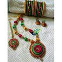 Stylish Thread Jewellery Set