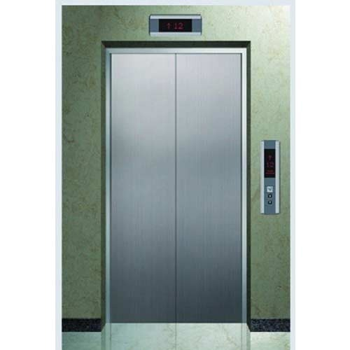 Stainless Steel Automatic Elevator Door, for Hospital and Office Building