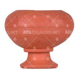 Terracotta Chimney Lamp / DIya