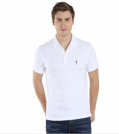 5674e77e Men Cotton Jockey White Polo T-Shirt, Rs 799 /piece, Padam Fashion ...