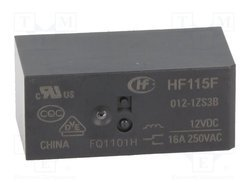 Hongfa Power Relay HF115F/012-1Z2BF / JQX115F/005-1H3B / HF115FD/024-1Z3B / JQX115F/048-1Z3A