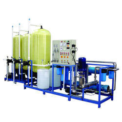 Stainless Steel 5000 LPH RO Plant, Number of Filtration Passes: 4, Industrial RO Plant