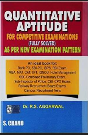 Rs Agarwal Aptitude Full Book