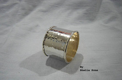 Bhatia Sons Silver Plated Napkin Ring