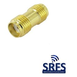 SMA Female To SMA Female Adaptor