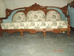 Wooden Carved Sofa Set for Home