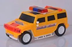 Yellow Plastic Hummer Ambulance Car Toys, Child Age Group: 1 To 8