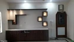 Brown Wall Mounted TV Unit, Home, Warranty: 10 Years