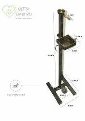 Sanitizer Kickstand Dispenser