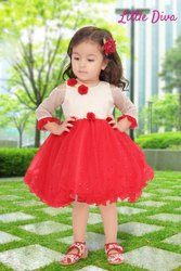 Girl Stitched Girls party wear