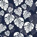 Digital Printed Tropical Leaves Leaf Pattern Fabric