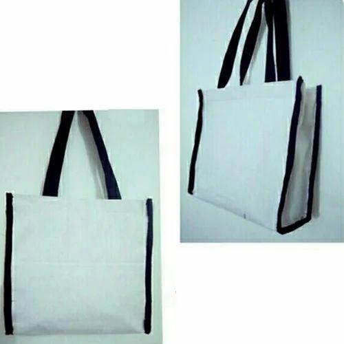 Printed Handled Cloth Shopping Bag
