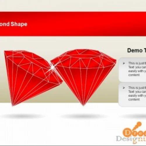 diamond shape template design designning service in upvan society