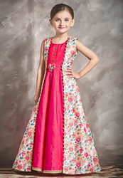 Pink Girl Gown