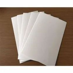White PVC Board, Thickness: 5-10 mm