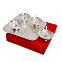 Designer Bowl Silver Plated Set