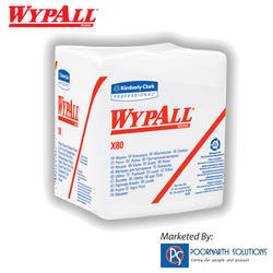 Wypall X80 Wipers, For Industrial And Institutional, Size: Sheet Size 12.5 X 12