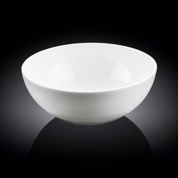 Round White Porcelain Bowl, for Home