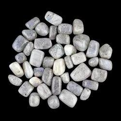 Natural Rainbow Moonstone Gemstones Tumbles