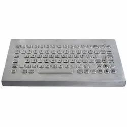 SS Metal Keyboard 103 Keys