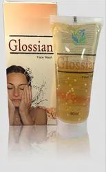 Herbal NATURAL Glossian Face Wash, Age Group: Adults, Packaging Size: 60ml