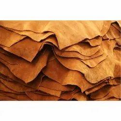 Semi  Chrome Split Suede Leather