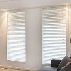 White PVC Interior Venetian Window Blinds