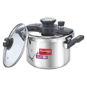 Prestige Clip On Stainless Steel Pressure Cooker