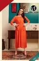 Bot Neck Formal Wear Excursive Designer Rayon Kurtis