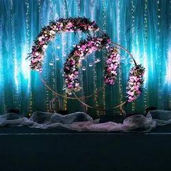 Wedding Parties Flower Decoration Services