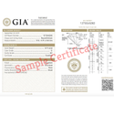 GIA Certified Brilliant Cut Real Diamond
