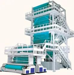 Automatic Blue and White Blown Film Making Machine, Capacity: 55 - 125 ( Kg/Hr )