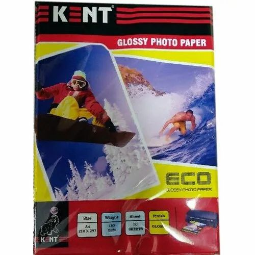 Kent Glossy Photo Paper, GSM: 150 - 200