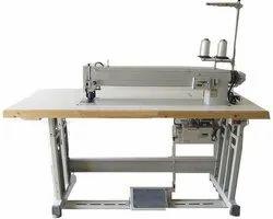 Long Arm Zigzag Label Stitch Machine