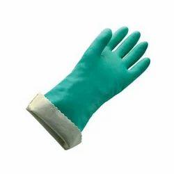 Nitrile Flock- Lined Gloves