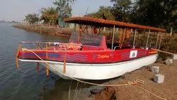 FRP Speed Boat 15 Seater Without Engine