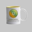 UpTuber Plain White Mug 11oz
