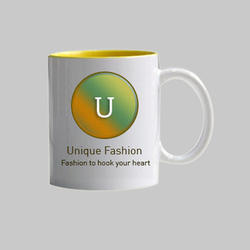 Ceramic India UpTuber Plain White Mug 11oz, Size: 350mL