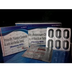 Biolife Biomoxy 625 Amoxicillin Potassium Clavulanate Tablet, Packaging Type: Box