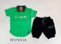 Boys Denim Suits, Age: Newborn - 4 Yrs