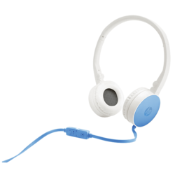 HP H2800 Blue Stereo Headset